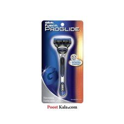 دسته تیغ ژیلت فیوژن پروگلاید+1 یدک Gillette Fusion proglide