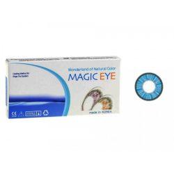 لنز رنگی MAGIC EYE آبی تیره 2 رنگ