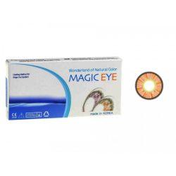 لنز رنگی MAGIC EYE - عسلی روشن 3 رنگ
