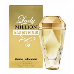 ادو تویلت زنانه پاکورابان Paco Rabanne مدل لیدی میلیون مای گلد
