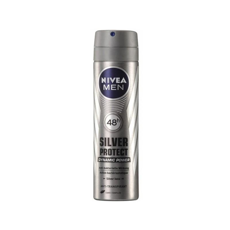 اسپری بدن مردانه نیوآ NIVEA مدل سیلور پروتکت