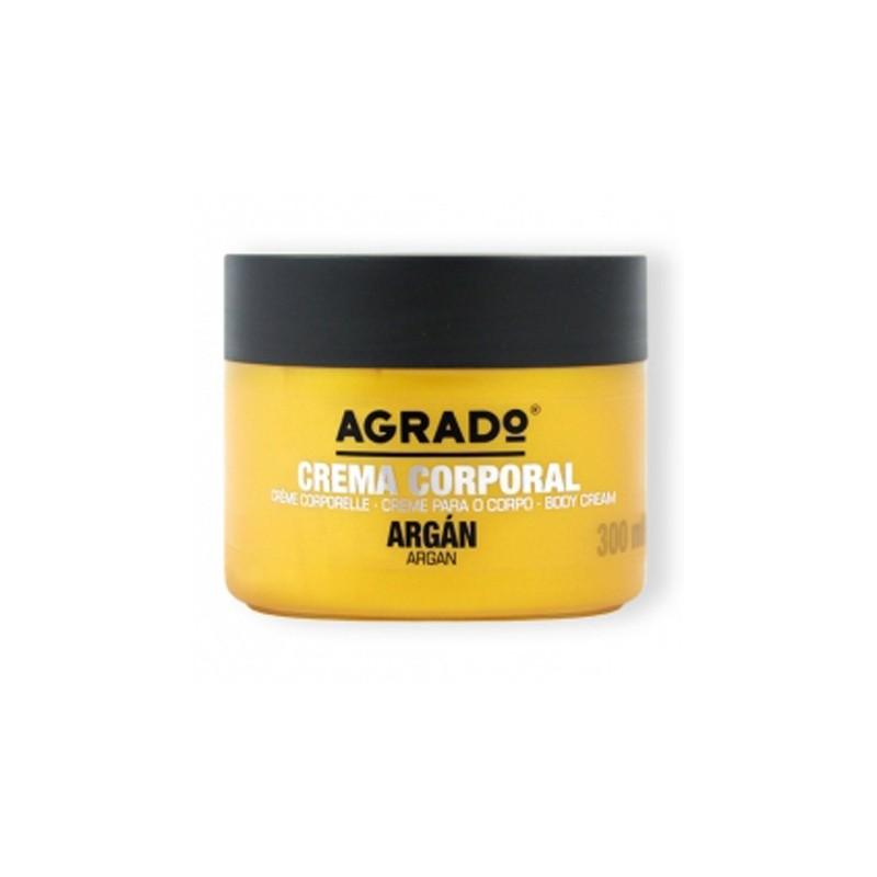 کرم تغذیه کننده پوست بدن آگرادو Agrado با روغن آرگان 300 میل