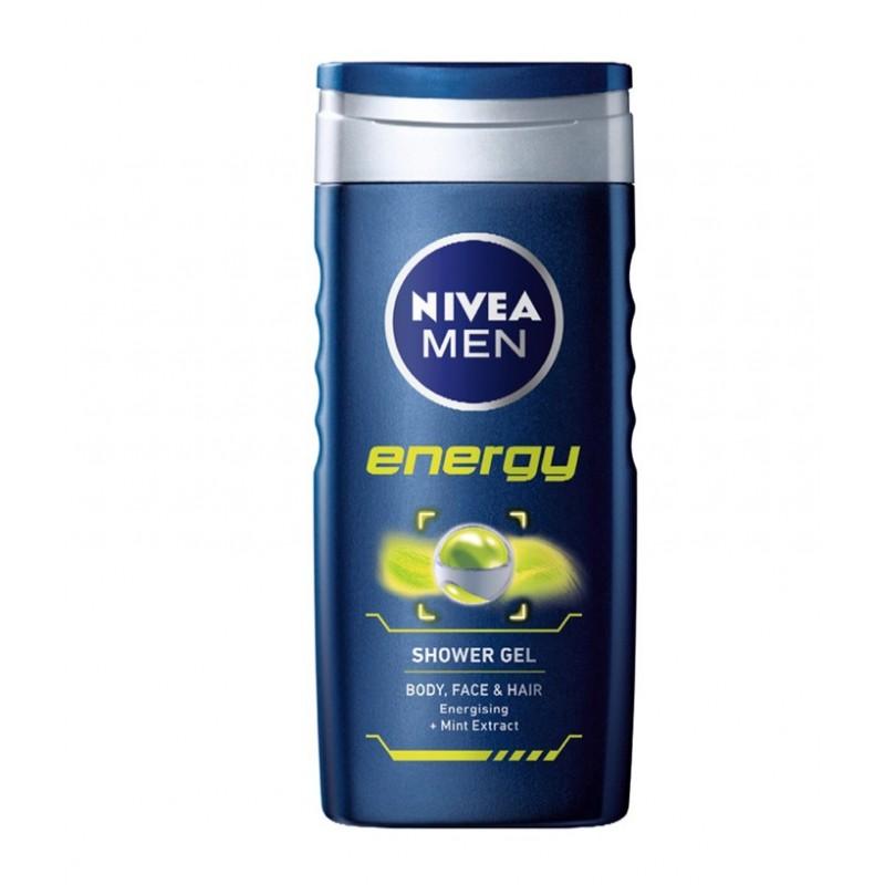 شامپو 3 کاره مخصوص آقایان نیوا Nivea مدل انرژی