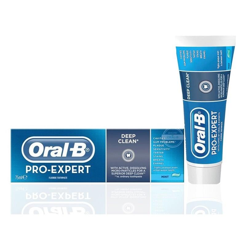 خمیر دندان پاک کننده قوی اورال بی Oral-B مدل Deep Clean