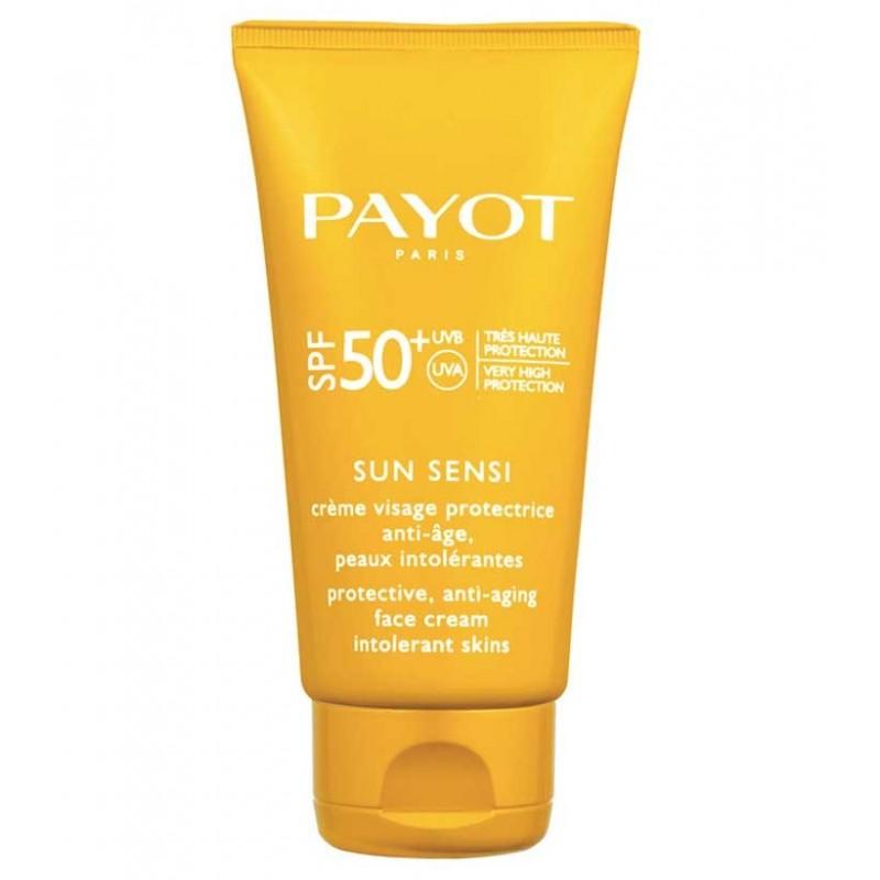 کرم ضد آفتاب و ضدپیری پایو PAYOT مدل سان سنسی SPF50 حجم 50 میل