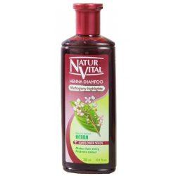 شامپو حنای رنگی نچرال ویتال Natur Vital برای موهای شرابی