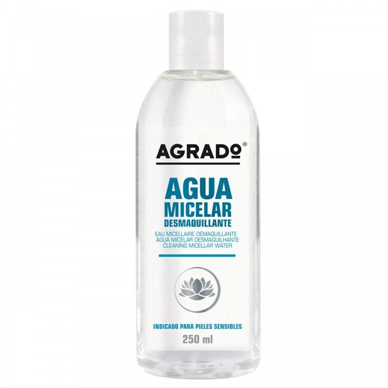 مایع پاک کننده پوست آگرادو Agrado مدل میسلار حجم 250 میل