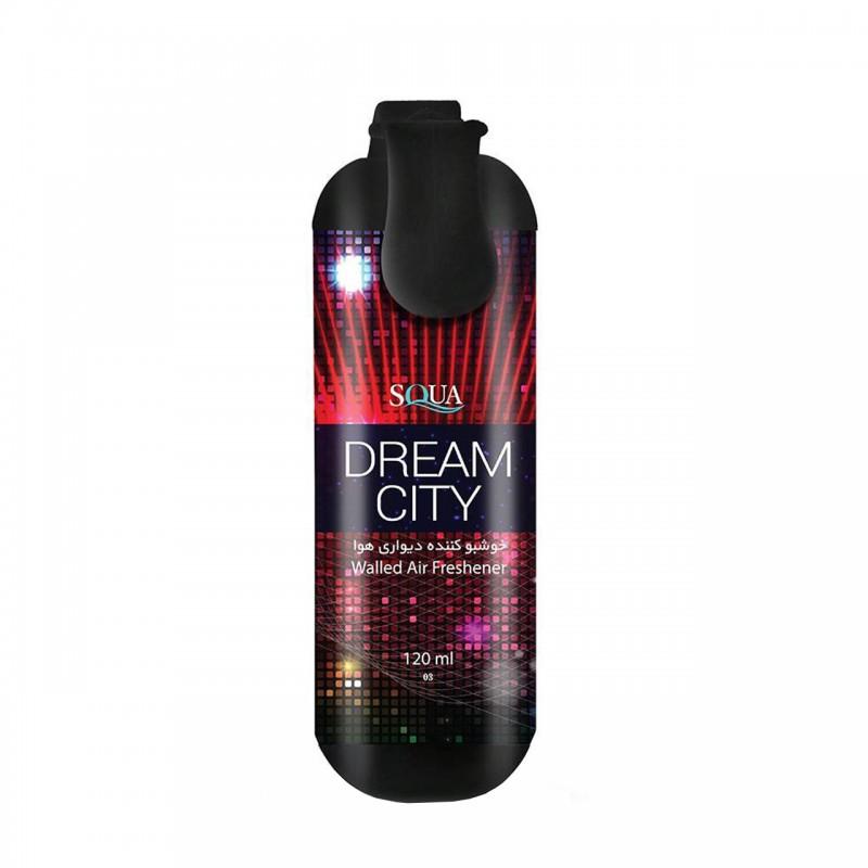 اسپری خوشبو کننده هوا دیواری اسکوا مدل Dream City حجم 120 میلی لیتر