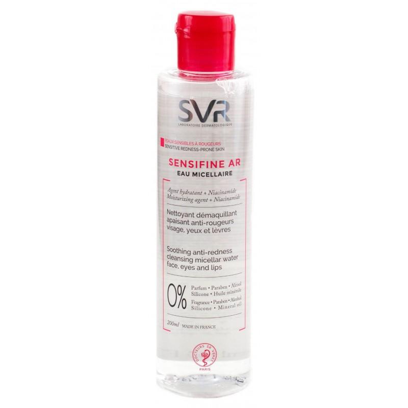 آب میسلار پاک کننده پوستهای حساس اس وی آر SVR مدل Sensifina حجم 200 میل