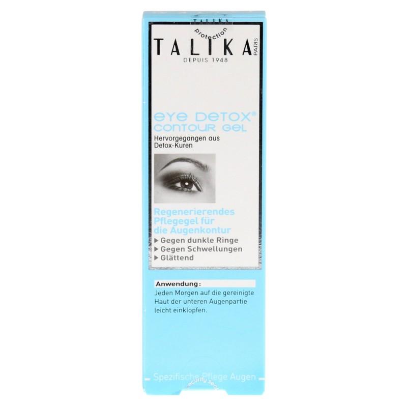 کرم رفع پف و سیاهی دور چشم تالیکا Talika مدل Detox حجم 1.8 میل
