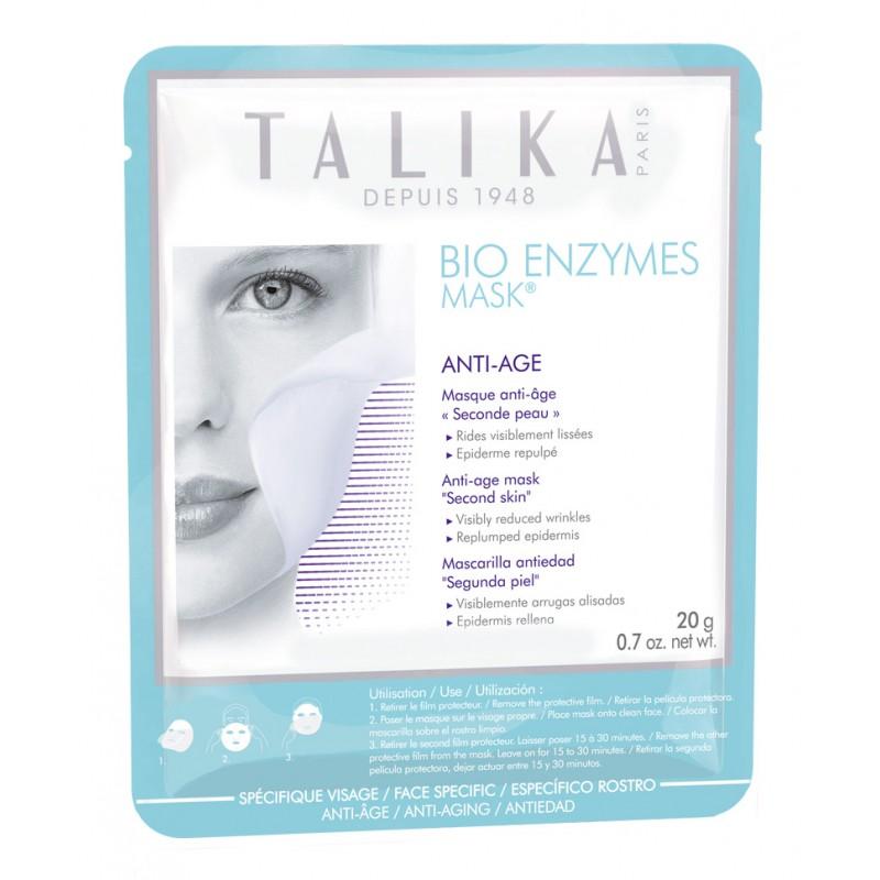 ماسک صورت بایو آنزیم تالیکا Talika مدل ضد پیری حجم 20 گرم