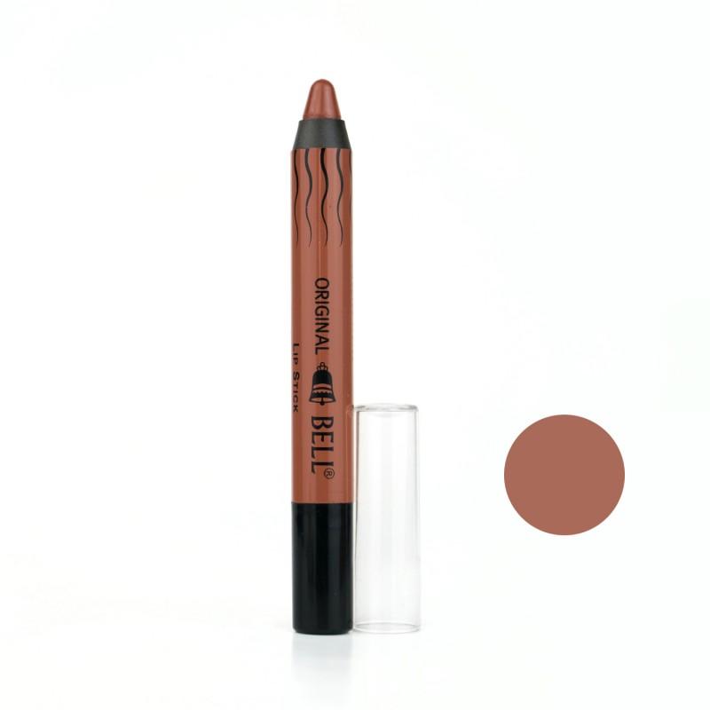 رژ لب مدادی بادوام بل Bell مدل Intensive Matt شماره 01 حجم 2.8 گرم