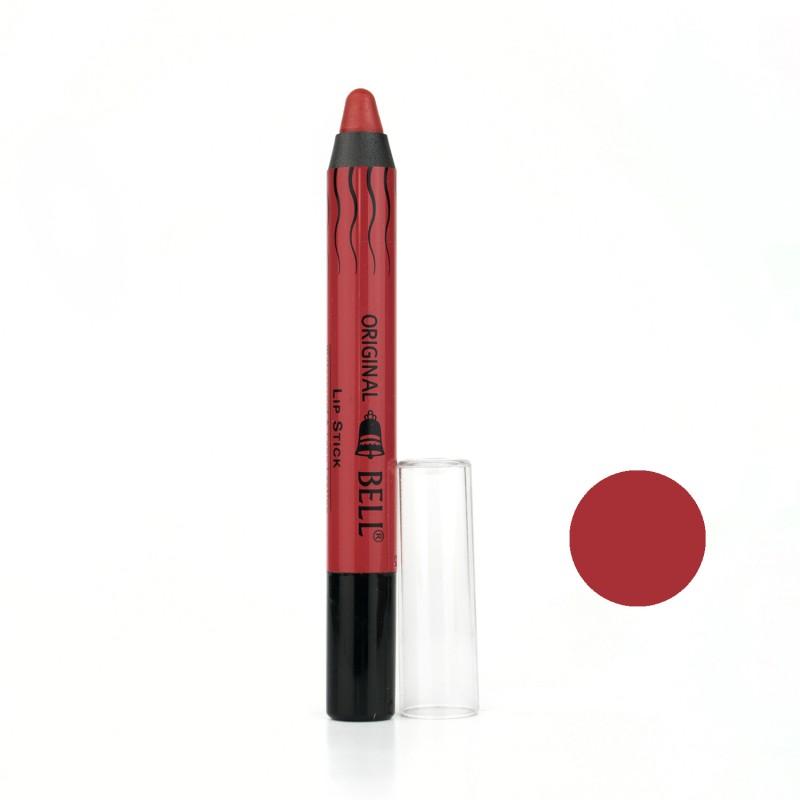 رژ لب مدادی بادوام بل Bell مدل Intensive Matt شماره 08 حجم 2.8 گرم