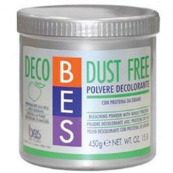 پودر بیرنگ کننده مو سبز بس BES مدل Dust Freeحجم 450 گرم