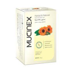 صابون پوستهای حساس ماسینکس Mucinex حاوی کالاندولا حجم 120 گرم