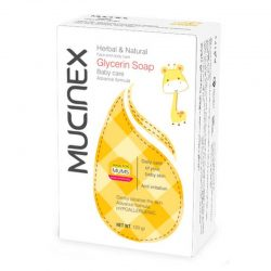 صابون گلیسیرینه ماسینکس Mucinex مخصوص کودکان حجم 120 گرم