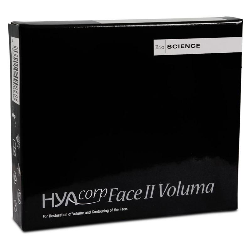 ژل تزریقی حجیم کننده صورت هیاکورپ Hyacorp مدل Volume حجم 4 میل