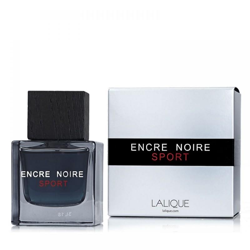 ادو تویلت مردانه لالیک مدل Encre Noire Sport حجم 100 میلی لیتر