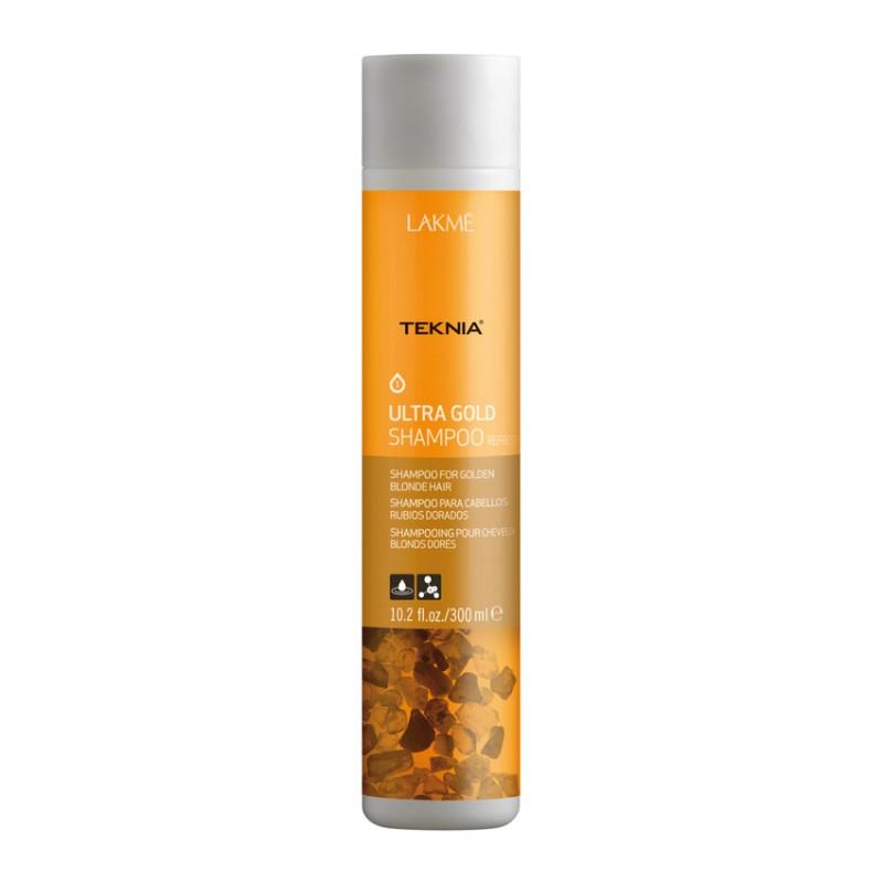 شامپو موهای طلایی و بلوند لاکمه Lakme مدل Teknia حجم 300 میل