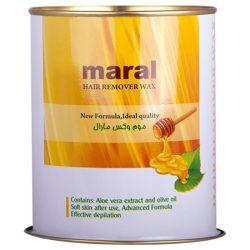 موم وکس کنسروی مارال مدل عسل مقدار 700 گرم