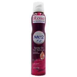 اسپری موبر می تو Me2 حاوی عصاره رز مناسب پوستهای حساس 200 میل